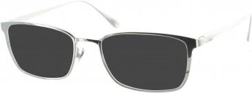 Dunhill London VDH040 sunglasses in Silver
