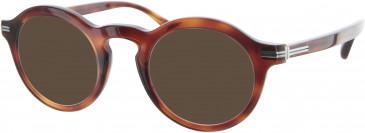 Dunhill London VDH023 sunglasses in Havana