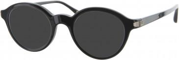 Dunhill London VDH020 sunglasses in Black