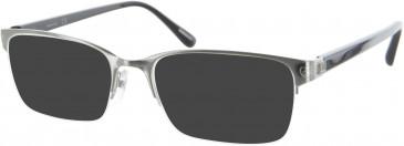 Dunhill London VDH021 sunglasses in Silver