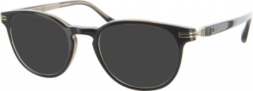 Dunhill London VDH031 sunglasses in Brown