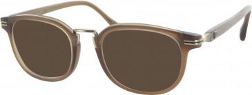 Dunhill London VDH034 sunglasses in Matt Brown