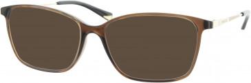 Nina Ricci VNR035 sunglasses in Brown