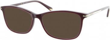Nina Ricci VNR038 sunglasses in Red