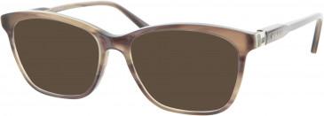 Nina Ricci VNR047 sunglasses in Brown