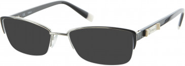 Furla VU4306S sunglasses in Black/Silver
