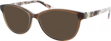 Furla VFU002S sunglasses in Brown