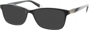 Furla VFU005 sunglasses in Black