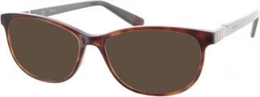 Furla VU4946 sunglasses in Brown