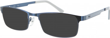 Fila VF9738 sunglasses in Blue
