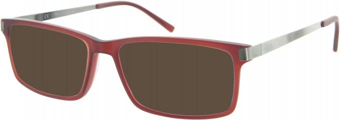 Fila VF9088 sunglasses in Red
