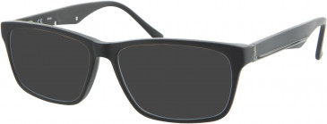 Fila VF9016 sunglasses in Matt Black
