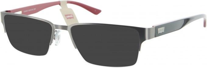 Levi's LS106 sunglasses in Gunmetal