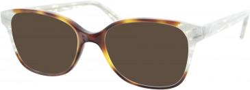 Oliver Goldsmith OLI019 sunglasses in Tortoiseshell/White Sparkle