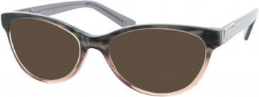 Carvela CAR004 sunglasses in Grey/Brown