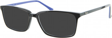 Fila VF9041 sunglasses in Black