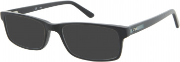 Fila VF9090 sunglasses in Matt Black