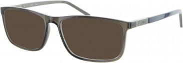 Fila VF9101 sunglasses in Smoke