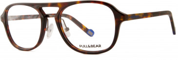 Pull & Bear PBG1766 glasses in Demi Amber