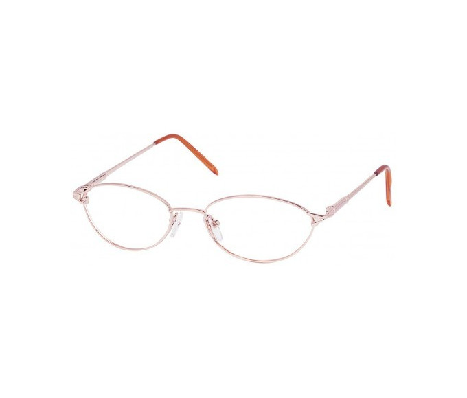 SFE glasses in Pink Gold