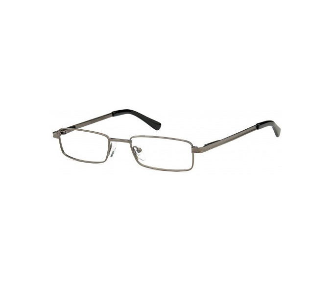 SFE glasses in Matt Gunmetal