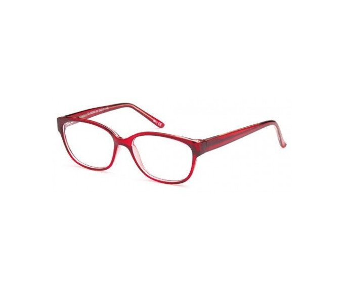 SFE glasses in Burgundy