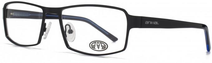 Animal KEATS glasses in Matt Black