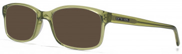 Animal TIMSON sunglasses in Crystal Khaki
