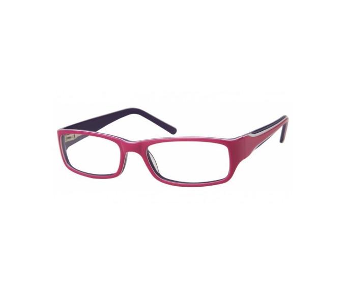 SFE Plastic Prescription Glasses Purple/Pink