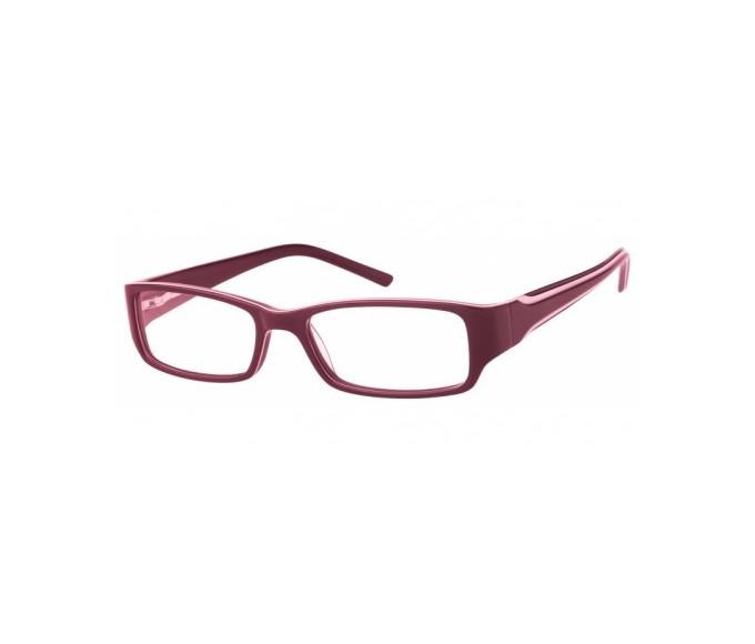 SFE Plastic Prescription Glasses Purple/Ivory