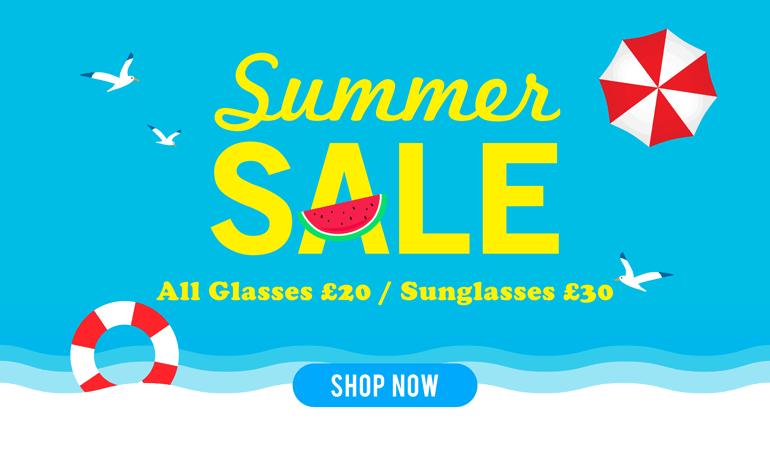 Summer Sale Glasses & Sunglasses