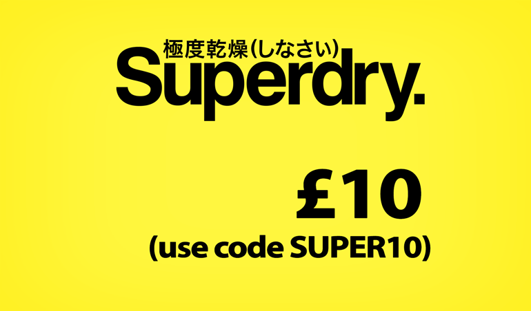 Superdry £10 Sale